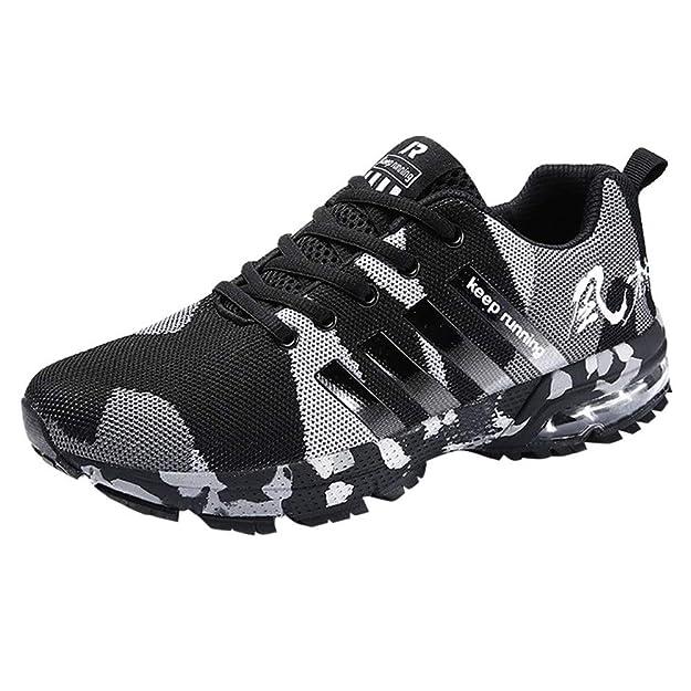 Logobeing Zapatillas Deporte Hombres Running Zapatos Hombre Deportivos Casuales Zapatillas Running Hombre Auriculares Correr en Asfalto Calzado Deportivo ...