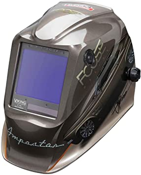 Lincoln Electric K4181 4 Viking 3350 Auto Darkening Welding Helmet With 4c Lens Technology Foose Impostor Amazon Com