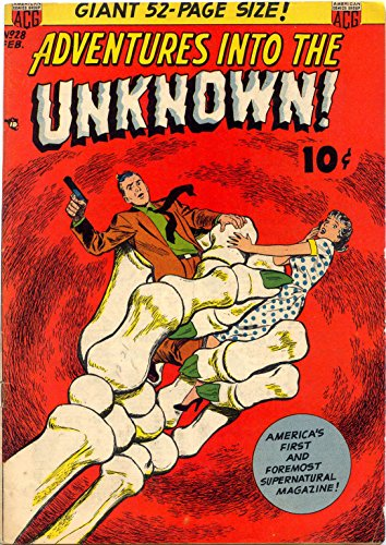 - Adventures into the Unknown - Issues 027 & 028 (Golden Age Rare Vintage Comics Collection (With Zooming Panels) Book 14)