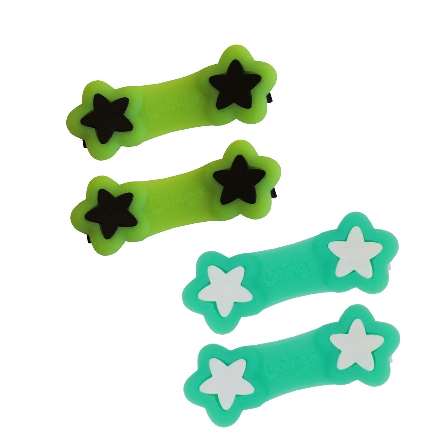 Boingo Baby Cloth Diaper Fastener - 2 Pack - Turquoise & Green by Boingo Baby