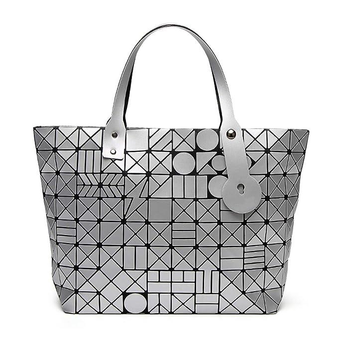 Amazon.com: Bolsas japonesas para mujer, diseño geométrico ...
