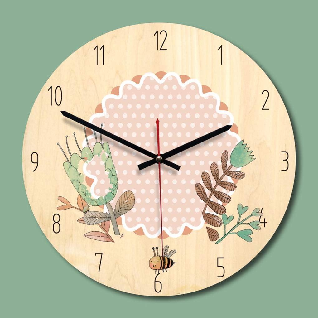 Mengonee - Reloj de Pared con Dibujos Animados, manecillas de ...