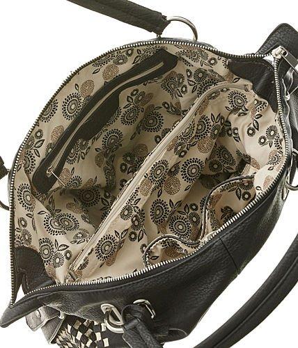 Amazon.com  Vitalio Vera Miley Black Large Crossbody Convt. Hobo Bag  Shoes d17b3c7aa91eb