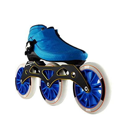 Sljj Speed Skating Shoes 3120MM Adjustable Inline Skates, Straight Skating Shoes (3 Colors) (Color : Blue, Size : EU 44/US 11/UK 10/JP 27cm): Home & Kitchen