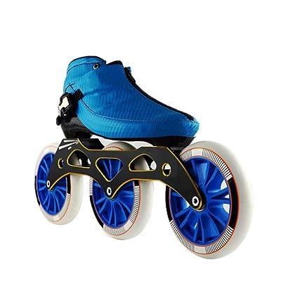 Sljj Speed Skating Shoes 3120MM Adjustable Inline Skates, Straight Skating Shoes (3 Colors) (Color : Blue, Size : EU 44/US 11/UK 10/JP 27cm): Home & Kitchen