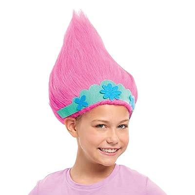 JP Trolls TR103000 Flair Trolls World Tour Trollific Wig-Poppy with Crown, Multicolour: Toys & Games