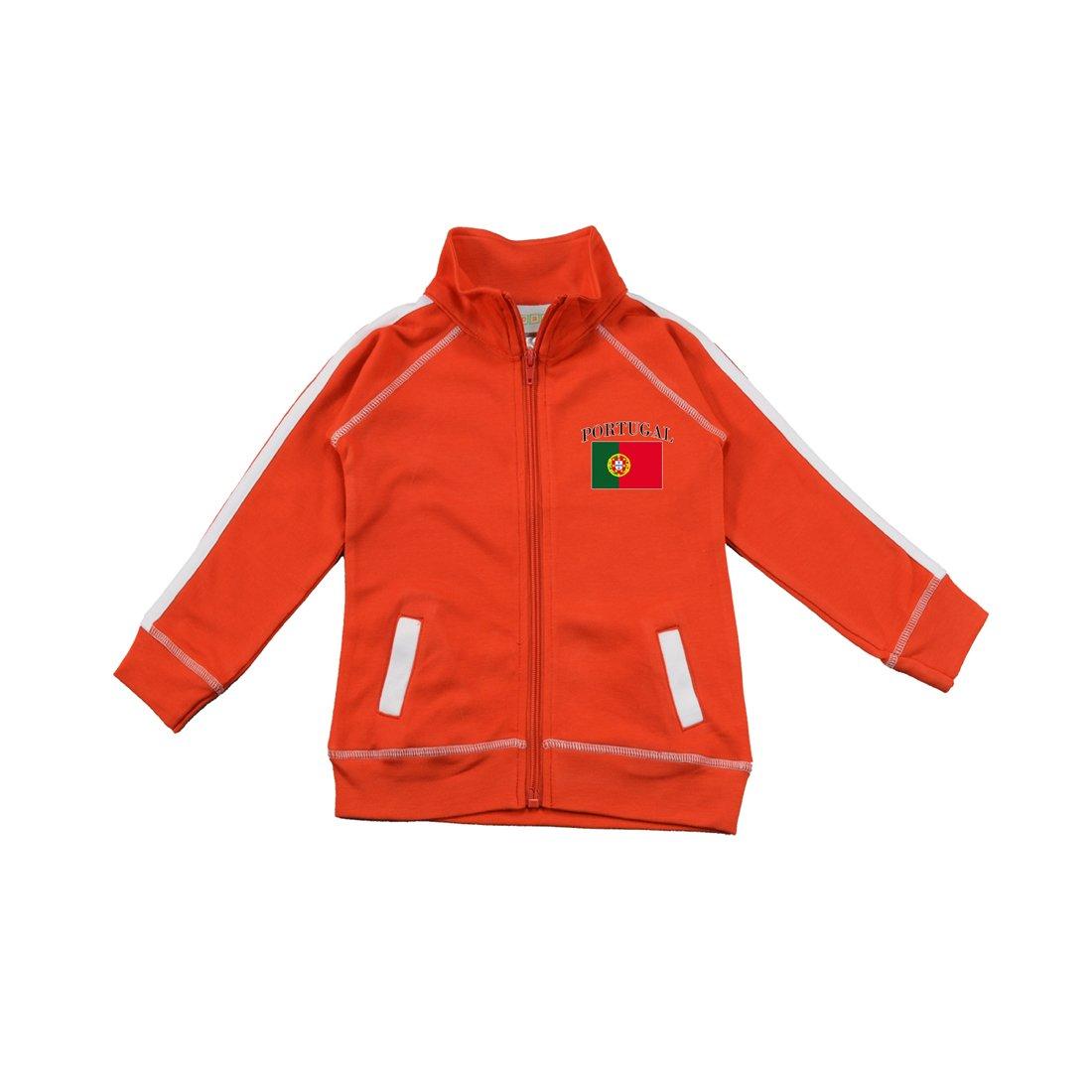PAM GM Little Boys Portugal Soccer Track Jacket 3577RD-POR