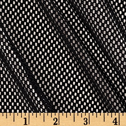 Nylon Mesh Material - Telio 0395289 Mod Stretch Mesh Black Fabric by the Yard
