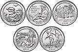 2016 P, D BU National Parks Quarters - 10 coin Set Uncirculated