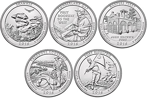 2016-p-d-bu-national-parks-quarters-10-coin-set-uncirculated
