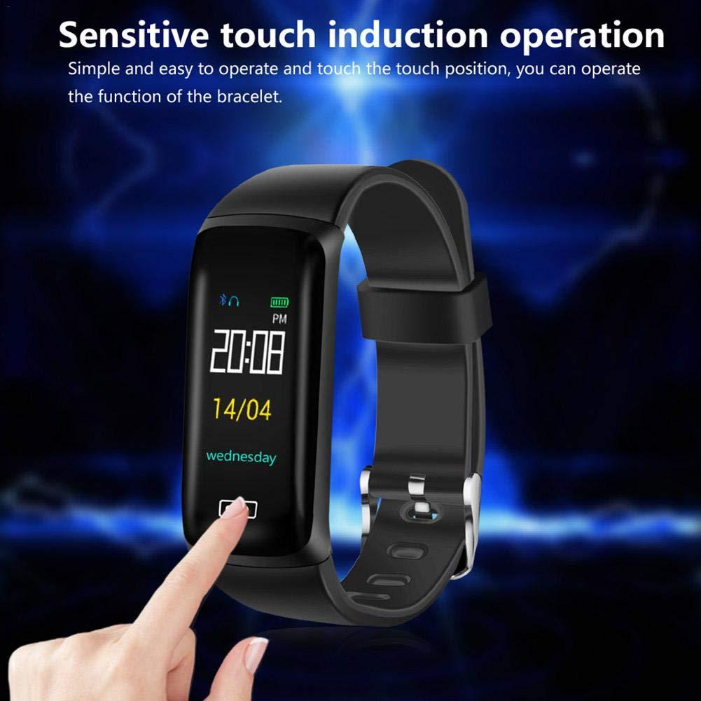 Alian - Higiene y Salud Pulsera Smart Watch Reloj Sports - Rastreador de Actividad Reloj de Ritmo cardiaco IP67 Waterproof Color Screen ...