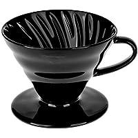 Epinox V60 Modeli Seramik Kahve Demleme Siyah Renk Dripper