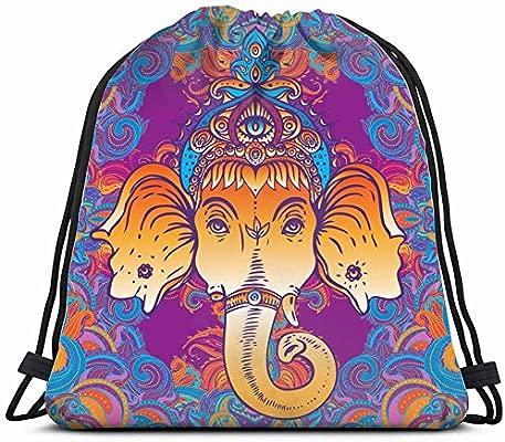 head hindu god ganesha religion mandala signs symbols ...