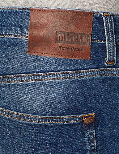 Mustang Ajustados Vaqueros 884 Dark Azul Oregon para Tapered Hombre trqzragP