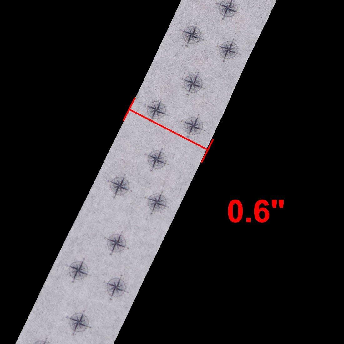 Amazon.com: eDealMax Washi compás de Papel de impresión del embalaje de Regalo DIY de la decoración de la Cinta del Rollo 10M Longitud 2pcs: Health ...