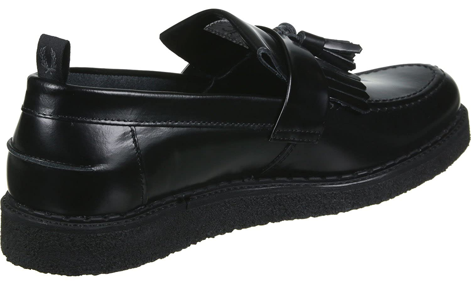 Fred Perry FS x Gc Tassel Loafer Leather Calzado Negro