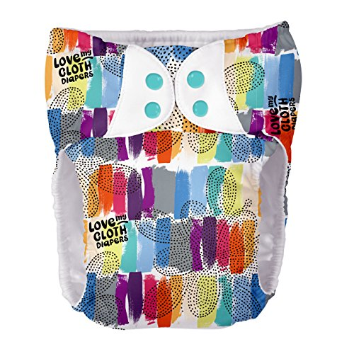- bumGenius Bigger: Teen and Adult Pocket Cloth Diaper - Fits 70 to 120 Pounds (Love)