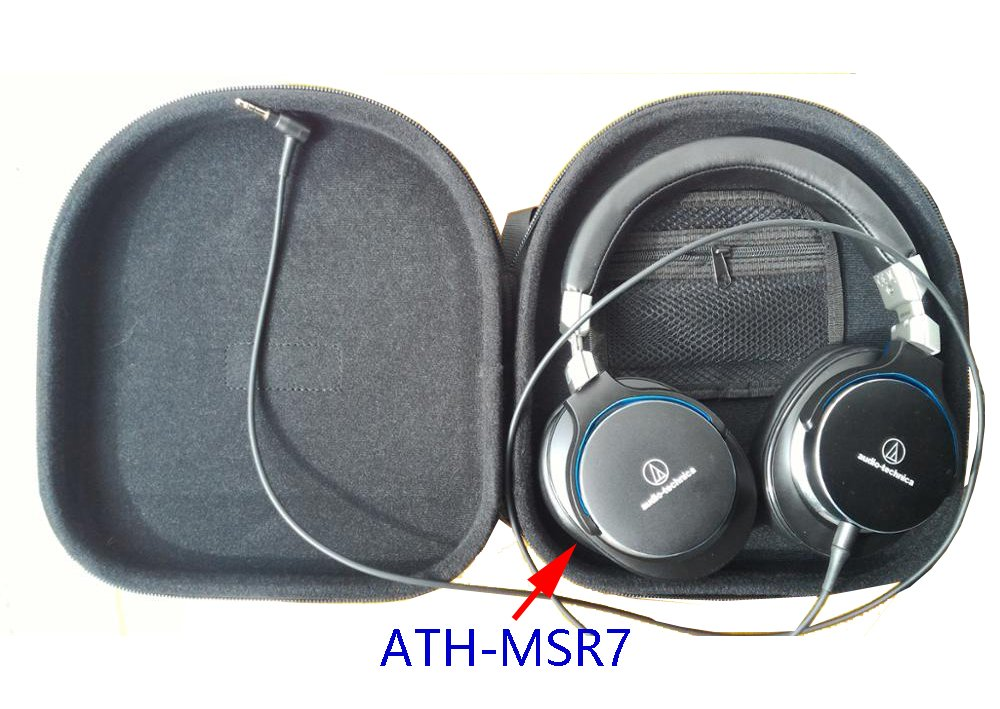 c6510cfc063 V-MOTA ANC headphone Carry case (Size:235x225x55mm) box For B&O BeoPlay  H9,BeoPlay H7 BeoPlay H6 and Plantronics backbeat pro and JVC HA-SW01、SW02  HIFI and ...