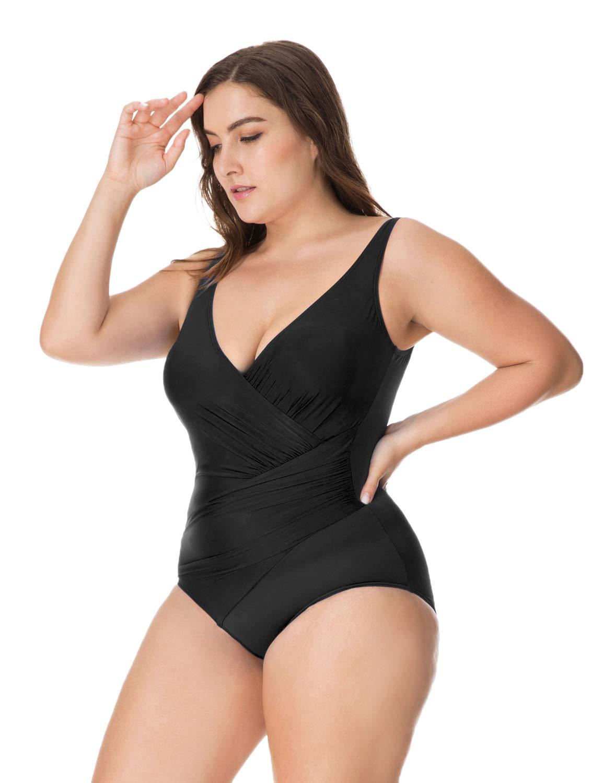 77a00d8c6 Delimira - Bañador con Relleno Vientre Plano Bikini para Mujer product image