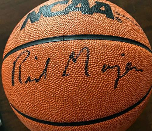 2001 Ncaa Basketball Final Four - Rick Majerus 2001 Final Four Autographed Signed Memorabilia Ball Auto - PSA/DNA Authentic