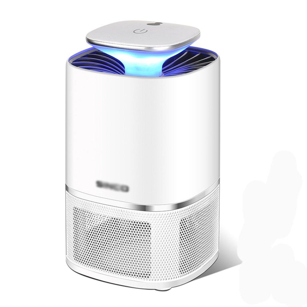 Flying Killer LED Light USB Insect Capture Smart Light Sensor Nessuna Radiazione Silenzioso Insetticida Per Uso Domestico,bianca