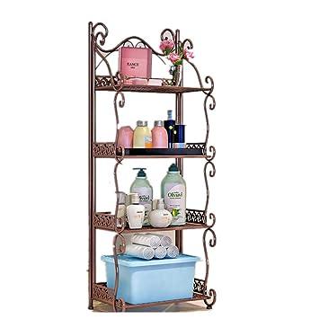 Organisieren Sie Alle Boden Standing Badezimmer Racks Badezimmer