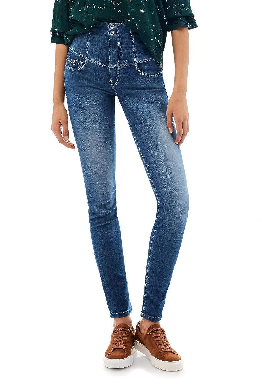 TALLA 38 (Tamaño del fabricante:30). Salsa Jeans Diva Vaqueros Slim para Mujer