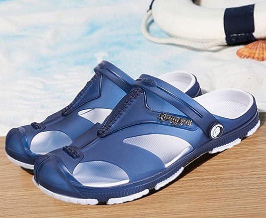 Sentao Hommes Loisir Outdoor Sandals Plage Pantoufle Chaussures Respirantes  style 3 45: Amazon.fr: Chaussures et Sacs