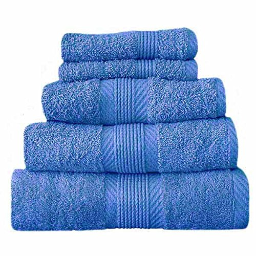 Catherine Lansfield Home 100% Cotton Bath Sheet, Cobalt Blue TWB3 0397 WBS