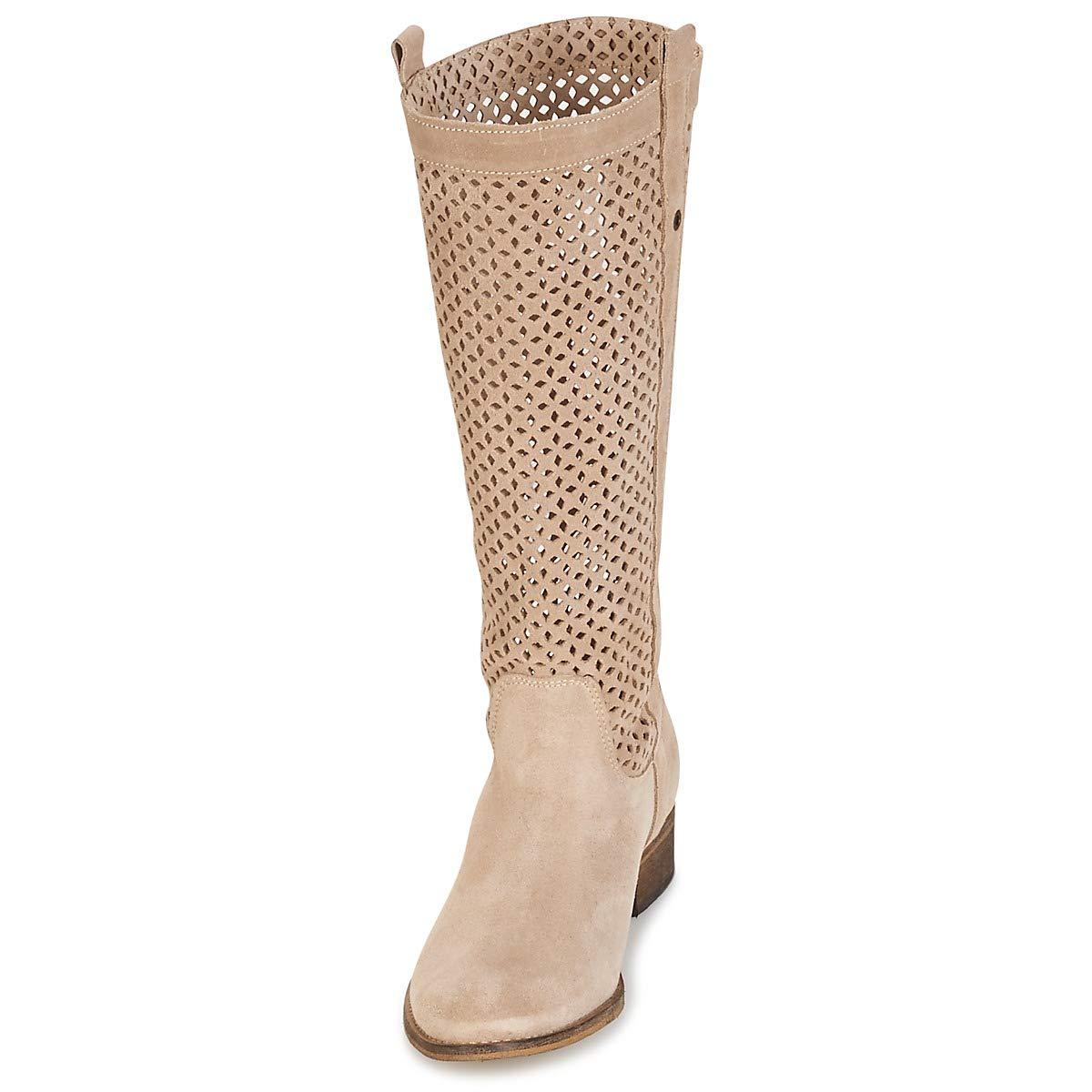 Betty London DIVOUI Stiefel Damen Damen Damen Beige Klassische Stiefel a8eb77