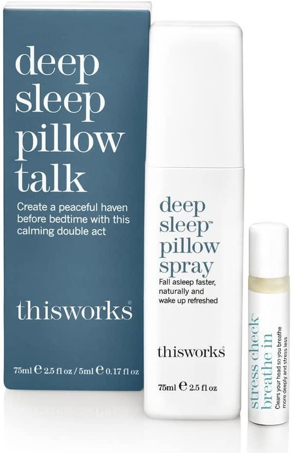 DEEP SLEEP PILLOW SPRAY THIS WORKS