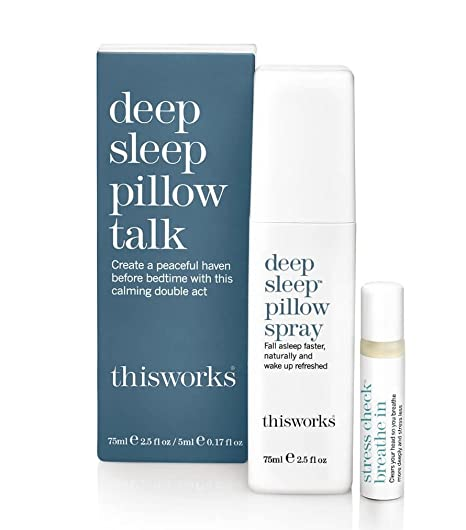 This Works Deep Sleep Pillow Talk The Ultimate Sleep Promoting Duo by This Works