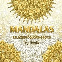Mandalas: Relaxing Coloring Book for Adults