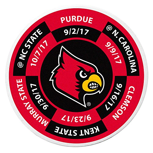- Siskiyou NCAA Louisville Cardinals Schedule Golf Ball Marker Coin