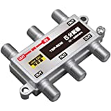 5分配器 1端子通電型 【4K8K対応】 3.2GHz対応型 (e5845)