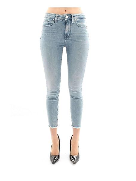 Tommy Hilfiger WW0WW24489 Pantalones Vaqueros Mujer: Amazon ...