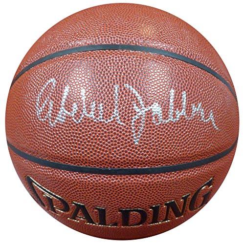 Kareem Abdul-Jabbar Autographed Spalding Zi/O Basketball PSA/DNA ITP