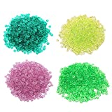 Fishbowl Beads for Crunchy Slime - Clear 280g Plastic Vase Filler Beads Fish Bowl Beads for Homemade Slime, Kid's Arts DIY Crafts, Wedding and Party Decoration(100% Plastic)