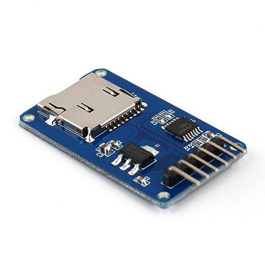EdBerk74 Tarjeta de Memoria Secure Digital Módulo de Tarjeta ...