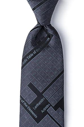 Periodic table black microfiber tie at amazon mens clothing store periodic table black microfiber tie urtaz Choice Image