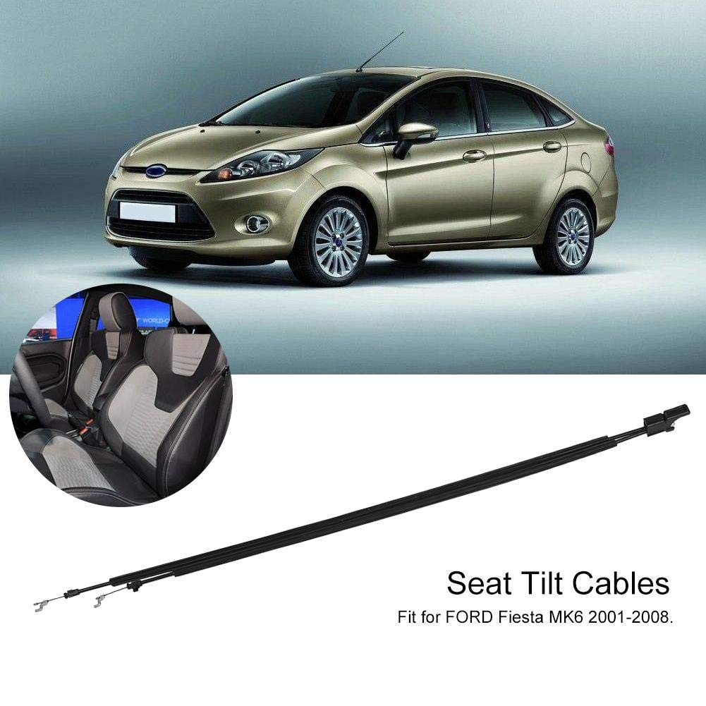 KIMISS Front Seat Tilt Cable Set Passengers Side Tilt Cable for MK6 2001-2008 R/L Hand Seat Black ((Drivers Side)) by KIMISS (Image #3)