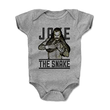 237e67d6ef21fb Amazon.com: Jake The Snake Roberts Baby Clothes & Onesie (3-24 Months) -  Old School Pro Wrestling Apparel - Jake The Snake Sketch Color: Clothing
