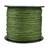 HERCULES Super Cast 300M 328 Yards Braided Fishing Line 200 LB Test for Saltwater Freshwater PE Braid Fish Lines Superline 8 Strands - Army Green, 200LB (90.7KG), 0.75MM