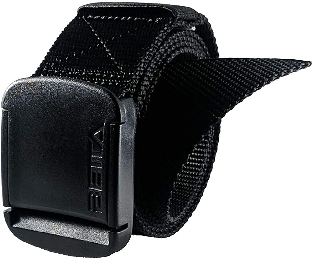 1.5 Inch Wide Mens Nylon Web Belt with High-Strength Adjustable Buckle