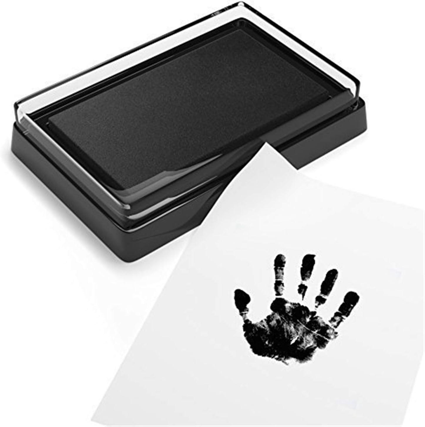 CHSEEO Cornice Impronta Bambino Neonato Kit Porta Foto e Impronte di Mani e Piedi per Bambini e Bambine Regalo per Nascita e Battesimo #1 Bambino Keepsake Regalo