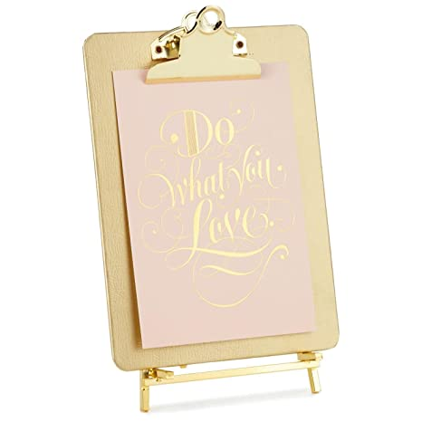 Amazon.com - Hallmark Gold Clipboard Picture Frame with Easel -