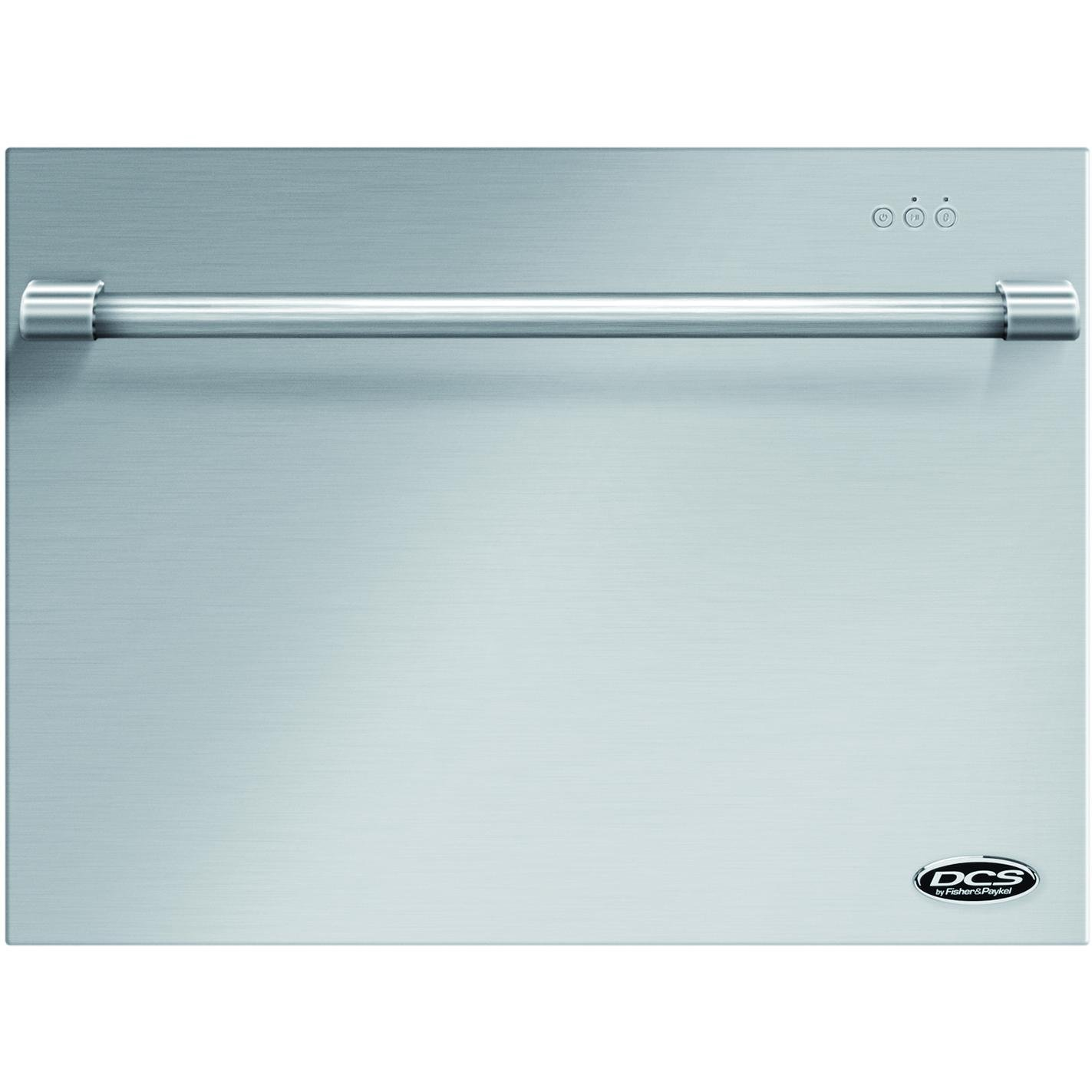 "DCS DD24SVT7 24"" Single Dishdrawer with Handle 7 Place Settings 9 Wash Cycles Quiet Dry ADA Compliance Concealed Wash Cycle Control Panel and Energy Star in Stainless"