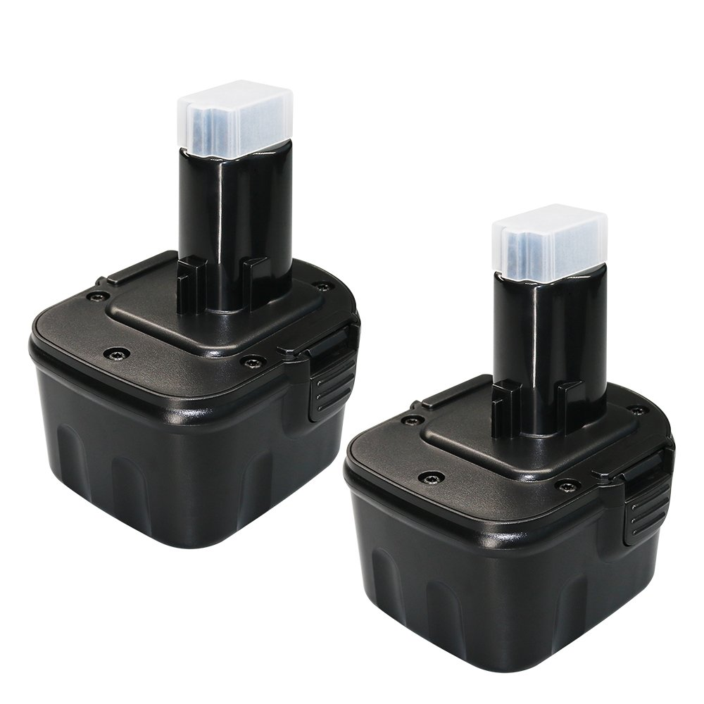 12 Volt 3.6Ah for Dewalt 12V Battery XRP DW9072 DC9071 DW9071 DE9037 DE9071 DE9072 DE9074 DE9075 152250-27 397745-01 dc727 Dewalt 12 volt Cordless Power Tool Replacement batteries 2 Pack