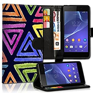 Wallet Wicostar–Funda Case Funda Carcasa con diseño para Samsung Galaxy S5Neo–Diseño Flip mvd30