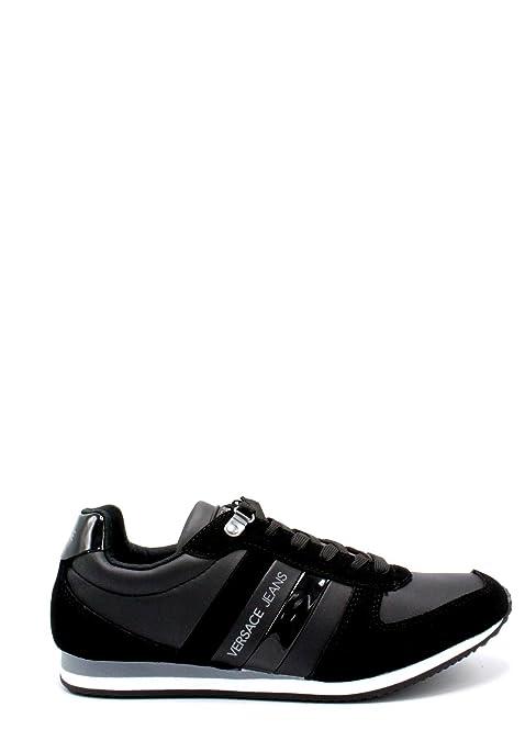 Versace Jeans Running Uomo Sneaker Nero  Amazon.it  Scarpe e borse 33698e77076